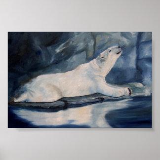 Praying Polar Bear Posters