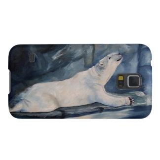 Praying Polar Bear Samsung Nexus QPC Galaxy S5 Case