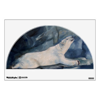 Praying Polar Bear wall graphics