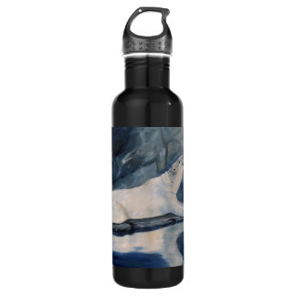 Praying Polar Bear Water Bottle