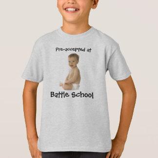 Pre-Aceptado en la escuela de la batalla - Playera