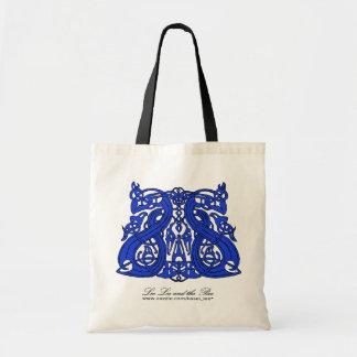 Pre azul de Viking, bolso de compras Bolsa De Mano