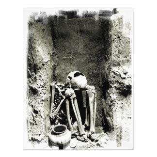 Pre-Columbian Gravesite Skeleton Flyer