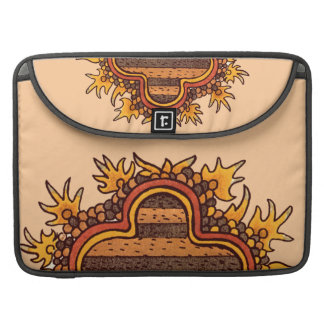 Pre-Columbian Mexican Bold MacBook Pro Sleeve