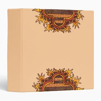 Pre-Columbian Mexican Design Binder