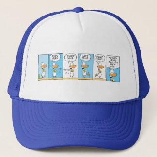 Pre-flight Check List Ding Duck Trucker Hat