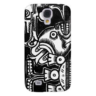 Pre-Hispanic Aztec Style Painting c. 1925 Galaxy S4 Case