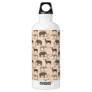 Pre-Historic Mammals Woolly Mammoth, Megaceros SIGG Traveler 0.6L Water Bottle
