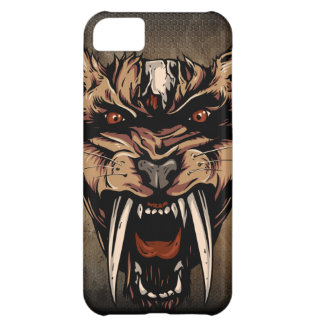Pre-historic Saber Tooth Cats Iphone 5 Case