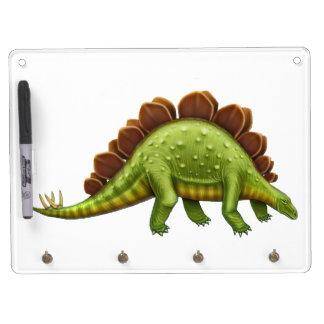 Pre-Historic Stegosaurus Dinosaur Dry Erase Board