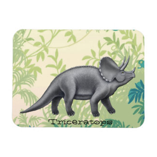 Pre-Historic Triceratops Dinosaur Magnet