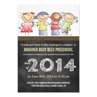 Pre-K Class of 2014 Chalkboard Grad Invites