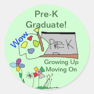 Pre-K Graduate Stickers