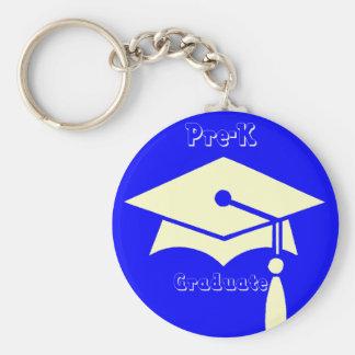 Pre-K Graduation Gifts Basic Round Button Keychain