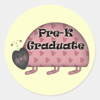 Pre-K Graduation Gifts Classic Round Sticker