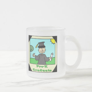 Pre-K Graduation Gifts Frosted Glass Coffee Mug