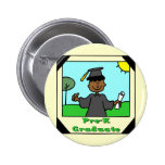 Pre-K Graduation Gifts Pinback Button