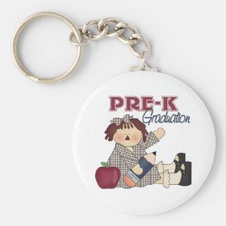 Pre-K Graduation Keychain