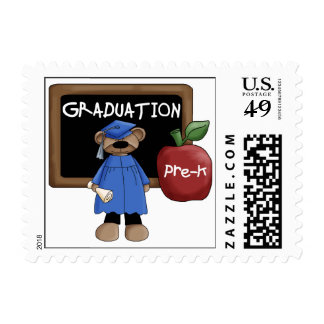 Pre-K Graduation Postage Stamps