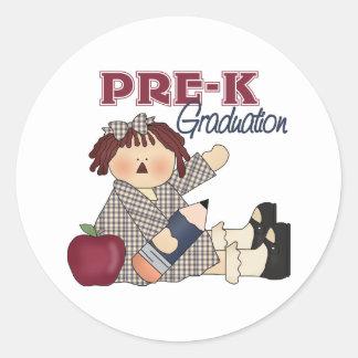 Pre-K Graduation Stickers