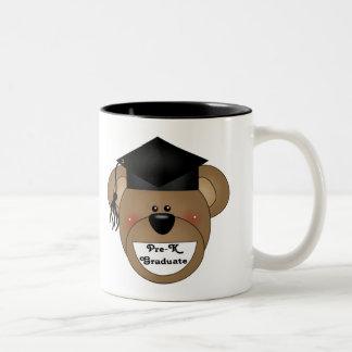 Pre-K Graduation T-shirts and Gifts Two-Tone Coffee Mug