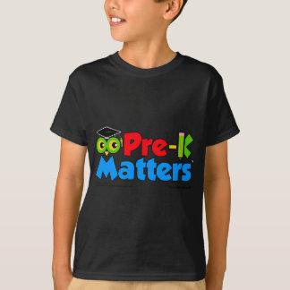 Pre-K importa camiseta oscura