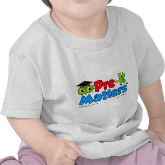 Pre-K Matters Tee Shirts