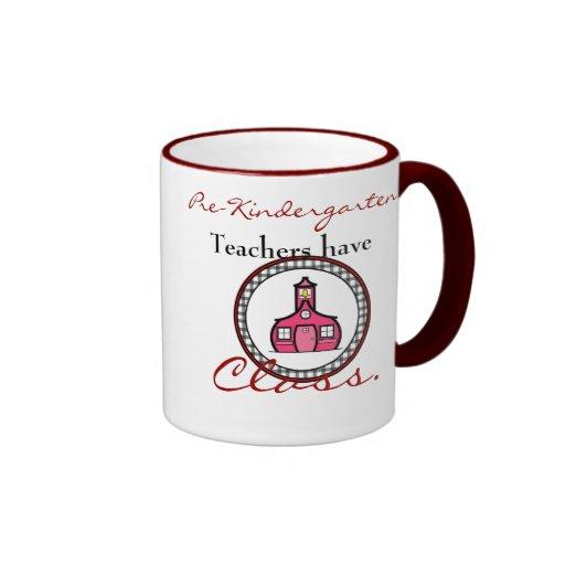 Pre-Kindergarten Teacher Mug