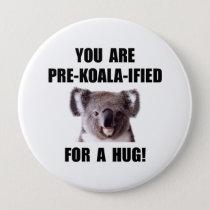 Pre Koala Qualified Hug Button