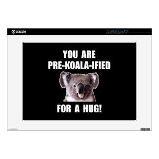 Pre Koala Qualified Hug Laptop Skin