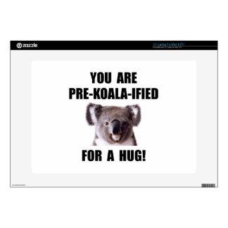 """Pre Koala Qualified Hug Skins For 15"""" Laptops"""