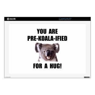 Pre Koala Qualified Hug Laptop Skins