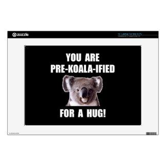 "Pre Koala Qualified Hug Decal For 13"" Laptop"