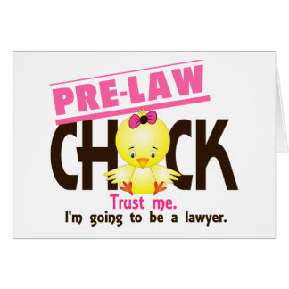 Pre-Law Chick 3 Cards
