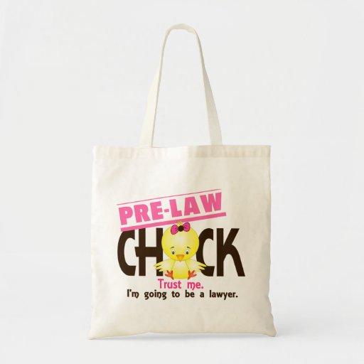 Pre-Law Chick 3 Tote Bag