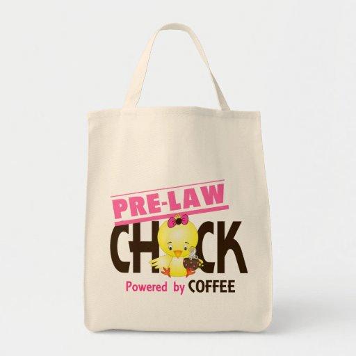 Pre-Law Chick 4 Canvas Bags