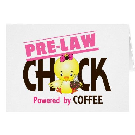 Pre-Law Chick 4 Card