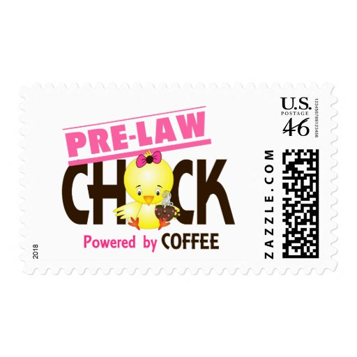 Pre-Law Chick 4 Postage