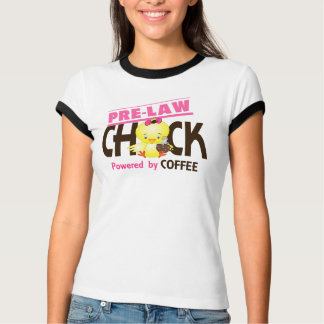 Pre-Law Chick 4 T Shirt