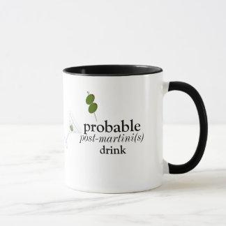 Pre-martini drink 11 oz Ringer Mug
