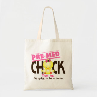 Pre-Med Chick 3 Budget Tote Bag