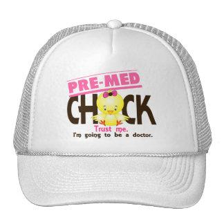 Pre-Med Chick 3 Trucker Hat