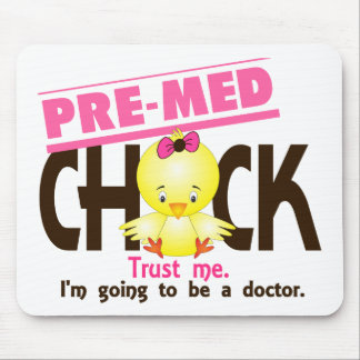 Pre-Med Chick 3 Mouse Pad