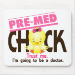 Pre-Med Chick 3 Mouse Pads