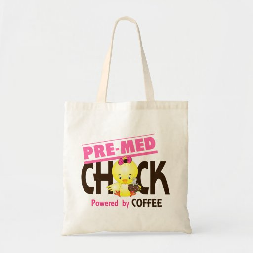 Pre-Med Chick 4 Canvas Bags