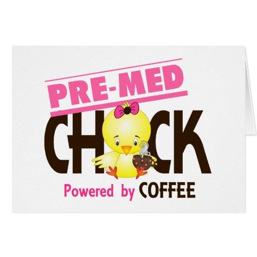 Pre-Med Chick 4 Card
