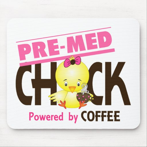 Pre-Med Chick 4 Mousepads