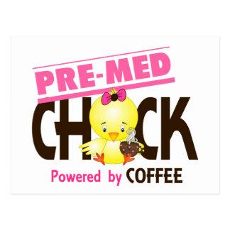 Pre-Med Chick 4 Postcard