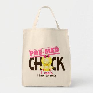 Pre-MED polluelo 1 Bolsa Tela Para La Compra