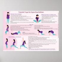 Pre Natal Yoga Poster